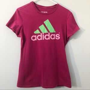 Adidas The Go To Tee Short Sleeve Tee with Logo